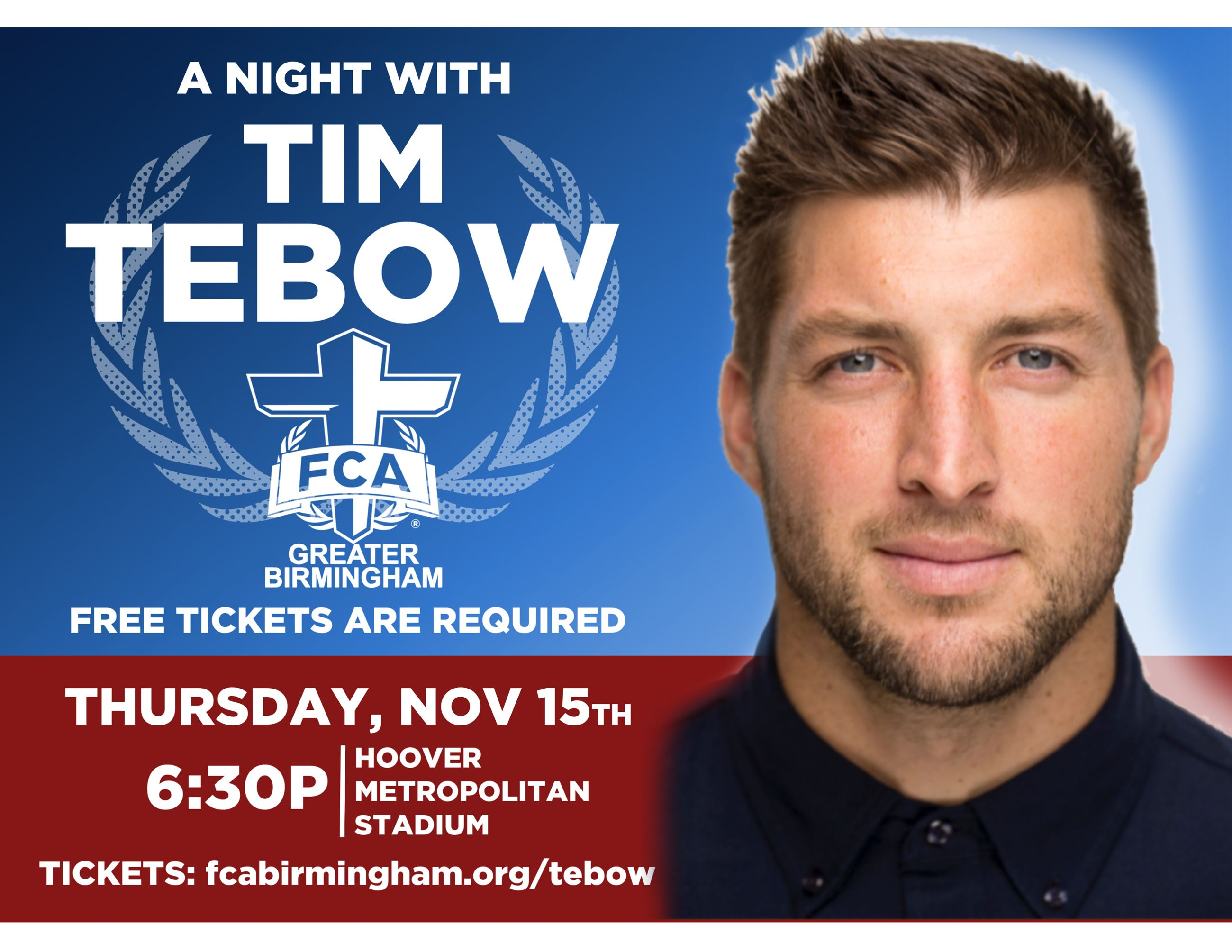 A Night with Tim Tebow