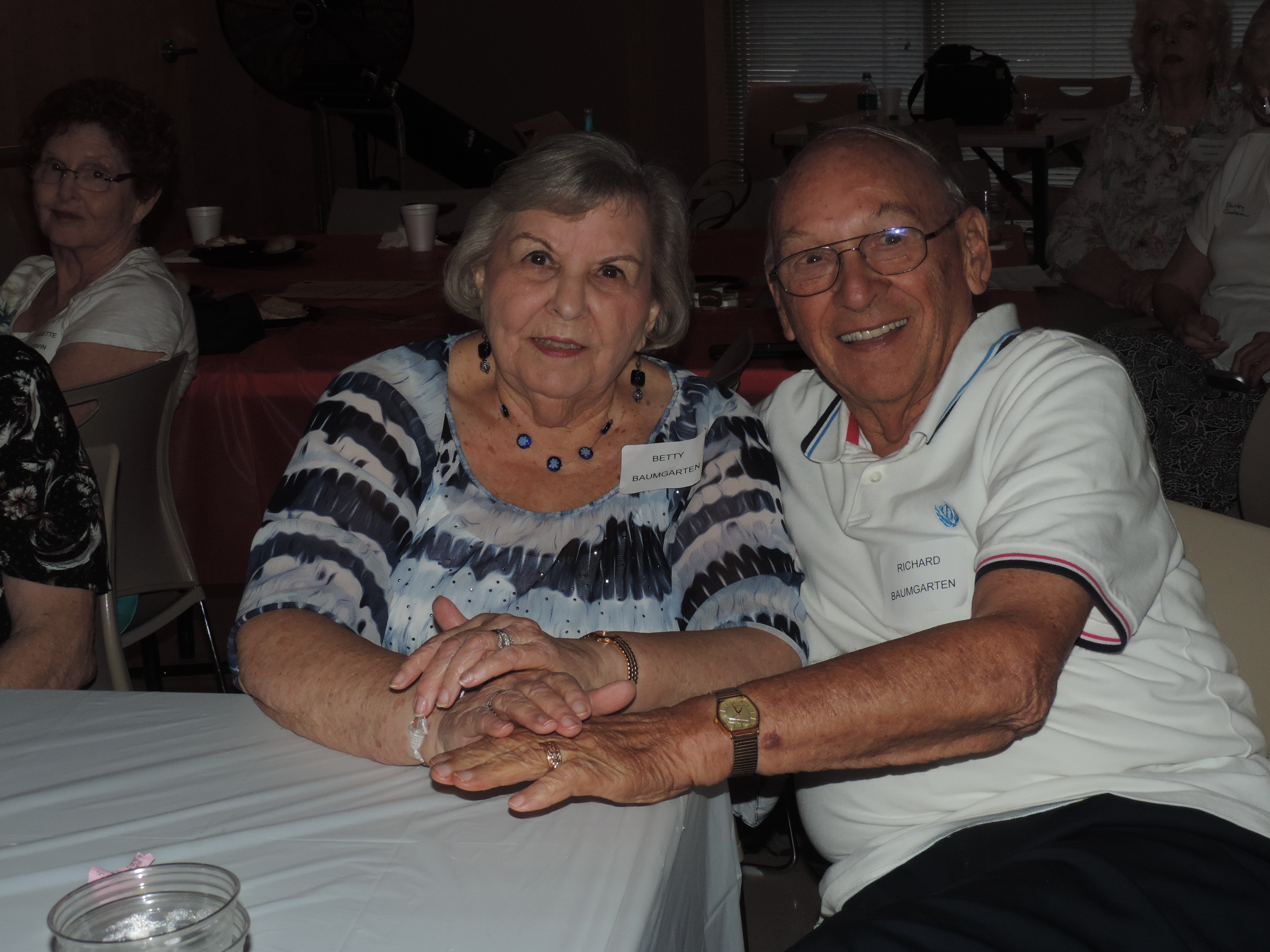 Betty and Richard Baumgarten