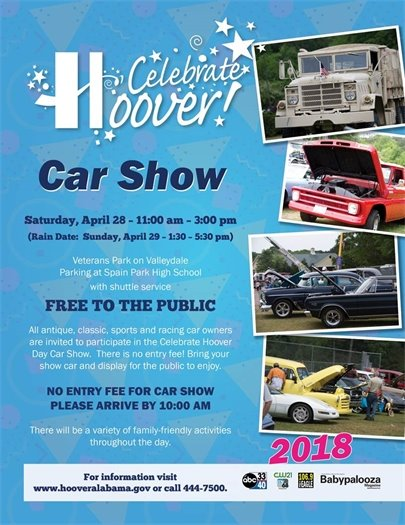 Celebrate Hoover Day - Car Show
