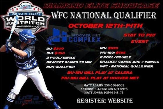 USA Elite World Fast Pitch Championship Qualifier