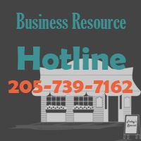 City of Hoover Business Resource Hotline - 205-739-7162